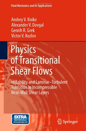 Physics of Transitional Shear Flows: Instability and Laminar-Turbulent Transition in Incompressible Near-Wall Shear Layers (Fluid Mechanics and Its Applications)