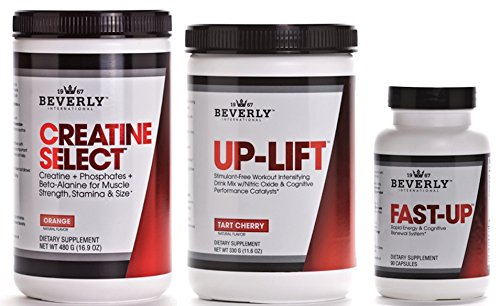 Beverly International Up-Lift Creatine Select & Fast-Up Muscle Pre-Workout Stack 5% OFF