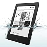 Kobo Aura H2O Waterproof eReader Black N250-KJ-BK-S-EP From Japan (Color: Black)