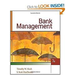 Bank Management (9780324655780)