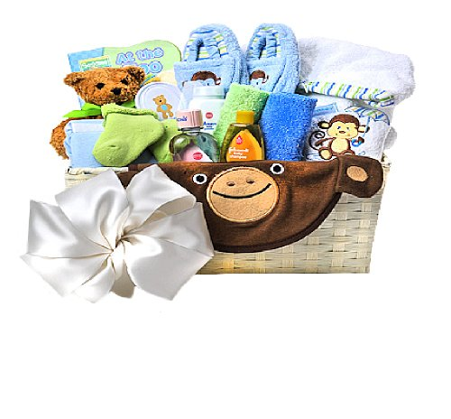 New Baby Gift Baskets Delivered