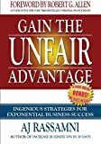 img - for Gain The Unfair Advantage: Ingenious Strategies For Exponential Business Success book / textbook / text book