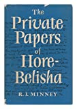 The Private Papers of Hore-Belisha R J Minney