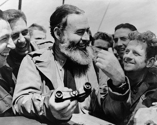 American Novelist Ernest Hemingway 8X10 Silver Halide Photo Print