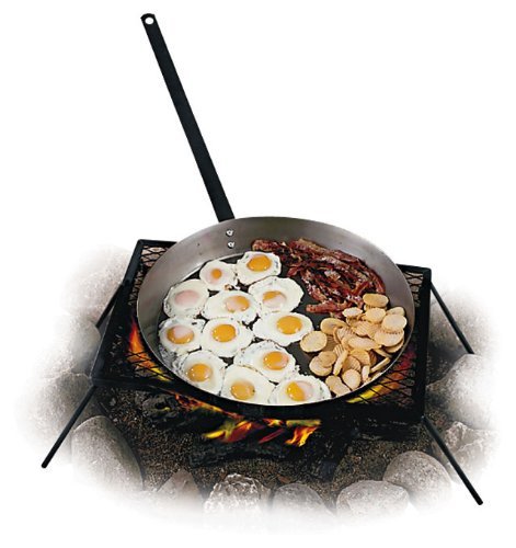 Campfire Cooking Equipment And Pans For Cooking - Big Daddy Skillet