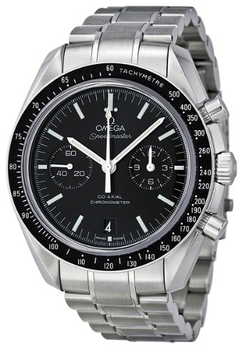 Omega Men's 311.30.44.51.01.002 Speedmaster Moon Black Dial Watch