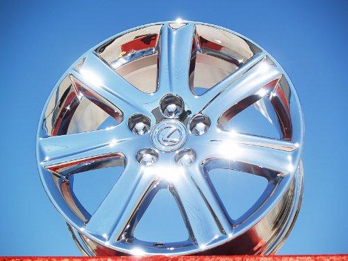 Lexus ES350: Set of 4 genuine factory 17inch chrome wheels