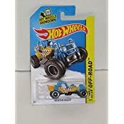 Hot Wheels Hw Off-Road Yellow/Blue Mountain Mauler