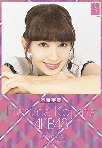 クリアファイル付 (卓上)AKB48 小嶋陽菜 カレンダー 2015年
