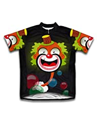 Bubbly Clown Short Sleeve Cycling Jersey for Women