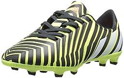 adidas Performance P Absolado Instinct Firm-Ground J Soccer Cleat (Little Kid/Big Kid), Light Flash Yellow/White/Dark Shale, 1 M US Little Kid