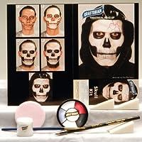 Graftobian Unisex Adult Skull Makeup Kit by Graftobian