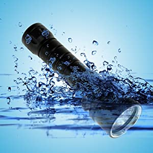 Buy Alldaymall® Cree XM-L T6 LED 1800 Lumens 3 Modes Scuba Diving Flashlight Underwater Waterproof Torch Submarine Light... by Alldaymall