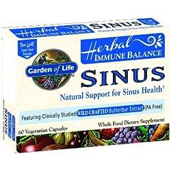 Garden of Life Immune Balance Sinus, 60 Capsule