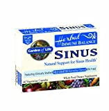 Garden of Life Herbal Immune Balance Sinus, 60 Capsules