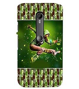 PrintDhaba Dancing Boy D-3626 Back Case Cover for MOTOROLA MOTO G3 (Multi-Coloured)