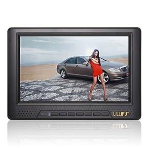 "Für DSLR (Canon Nikon Sony Olympus Panasonic Pentax) Video Camera Camcoder LILLIPUT 668GL-70NP/H/Y 7"" on-Kamera Field HD LCD Monitor für DSLR (HDMI, Composite-Eingang) von Lilliput"
