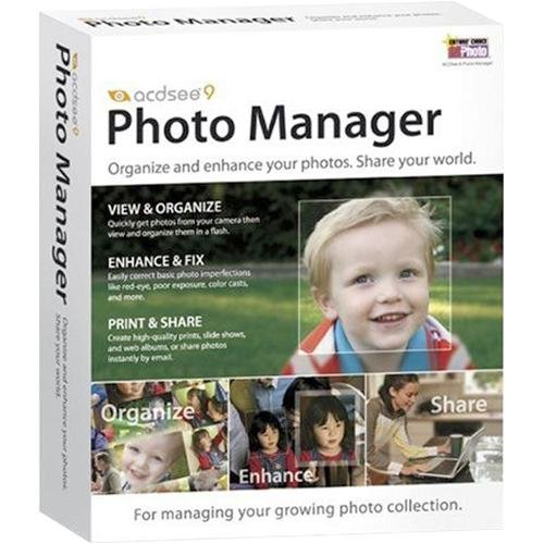 Acdsee 9.0 Photo Manager Retail in DVD Case