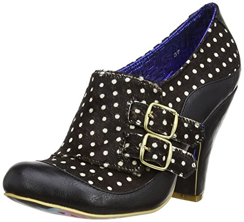 Irregular Choice Wadas Wish, Court shoes donna, Nero (nero), 38.5