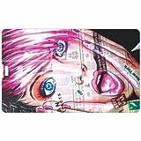 Beautiful Girl Credit Card 8GB Pen Drive
