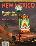 New Mexico Magazine March 2004 Route 66 Aglow Again, David Muench, White Sands Mutants