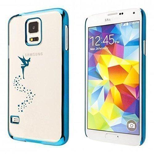 ECENCE Samsung Galaxy S3 mini i8190 i8200 Hard case schutz hülle handy tasche cover schale fee blau 43020501