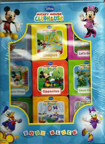 Disney Mickey Mouse Clubhouse Book Block