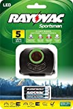Rayovac Sportsman 70 Lumen 3AAA 5-LED Blood Tracking Headlight with Batteries (SPBTHL-B)