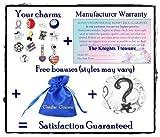 Timeline Trinketts Charm Bracelet Beads Fits Pandora Jewelry Holiday Enamel Glass - USA