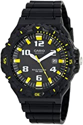 Casio Men's MRW-S300H-1B3VCF Tough Solar Black Watch