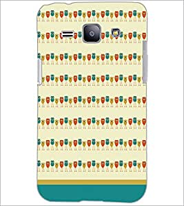 PrintDhaba Owl Pattern D-1702 Back Case Cover for SAMSUNG GALAXY J1 (Multi-Coloured)