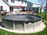 18'x33' Oval Economy Above Ground Swimming Pool Winter Cover 8 Year Warranty