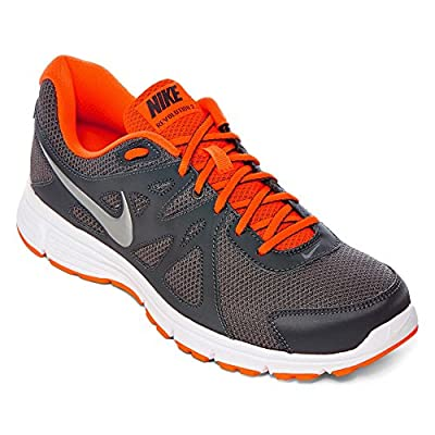 Nike Mens Revolution 2 Running Shoes, Grey, 11 M Us