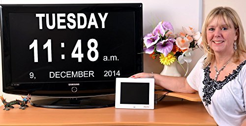 International Calendar HDMI Day Clock by www.dayclox.com