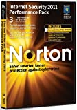 Software - Norton Internet Security 2011 Performance Pack, 3 Computers, 1 Year Subscription (PC)