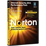 Norton Internet Security 2011 Performance Pack, 3 Computers, 1 Year Subscription (PC)by Norton from Symantec
