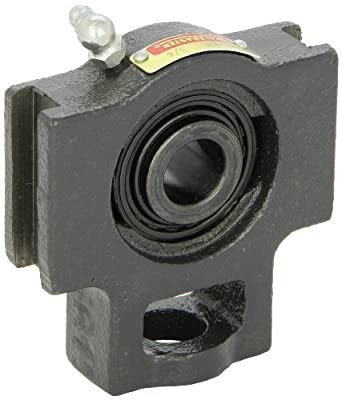 "Sealmaster ST-8C Take-Up Unit, Standard Duty, Regreasable, Setscrew Locking Collar, Contact Seals, Cast Iron Housing, 1/2"" Bore, 17/32"" Slot Width, 3"" Between Frames"