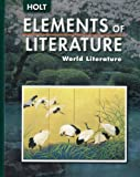 img - for Elements of Literature: World Literature book / textbook / text book