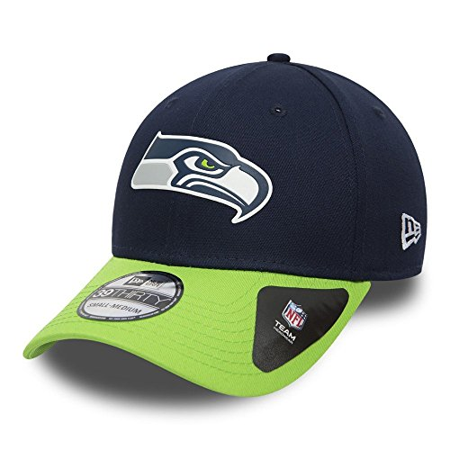 New Era NFL SEATTLE SEAHAWKS Team Weld 39THIRTY Stretch Fit Cap, Größe:S/M