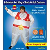 INFLATABLE FAT KING OF ROCK N ROLL 80