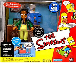 The Simpsons Interactive Kwik-e-mart , Exlusive Apu