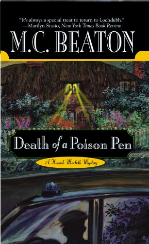 Death of a Poison Pen (Hamish Macbeth Mysteries, No. 20)
