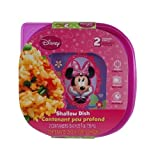 Disney Minnie Mouse Lunch Set - Water Bottle, Snack Container, 2-pack Sandwich Boxes - Great Minnie Mouse Bowtique Girls Best Gifts - All Are Non-BPA and Non-toxic : 4 Item Bundle