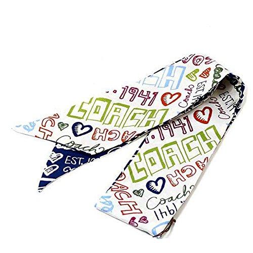 (コーチ)COACH スカーフ ポニーテールスカーフ プリント [ブランド][アウトレット品]83043[並行輸入品]