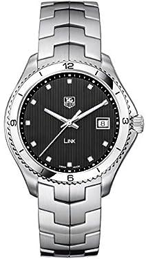 TAG Heuer Men's WAT1112.BA0950 Link Analog Display Swiss Quartz Black Watch
