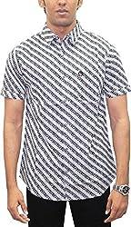 AA' Southbay Men's Starwars Print 100% Cotton Half Sleeve Hawaiin Print Beach Wear Casual Shirt