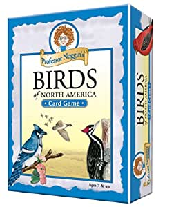 Educational Trivia Card Game - Professor Noggin's Birds of North America