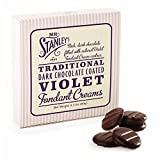 Mr Stanley's Dark Chocolate Coated Violet Fondant Creams (90g)