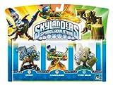 echange, troc Figurine Skylanders : Spyro's adventure - Drobot + Stump Smash + Flame slinger