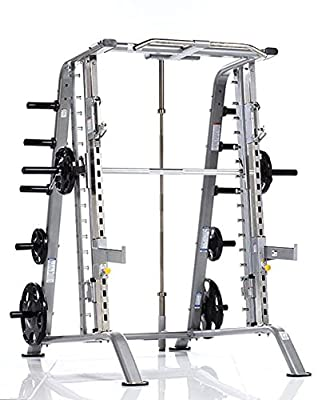Tuff Stuff Fitness Evolution Smith Machine / Half Cage Combo Strength Training Rack